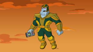 Специальная серия Симпсонов про киновселенную Marvel