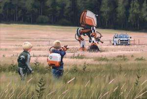 научно-фантастический сериал Tales From the Loop основанный на иллюстрациях Саймона Сталенхага