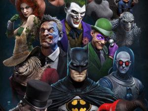 Персонажи анимационного сериала Бэтмен 1992 года в 3D-стиле от Рафа Грассетти, художественного директора Santa Monica Studios (God Of War).