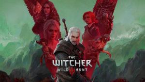 Арт в честь пятилетия игры The Witcher 3: Wild Hunt