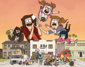 Первый постер и трейлер мультсериала «Достаточно близки» от авторов «Обычного шоу»