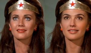 С помощью Deepfake актриса Галь Гадот преобразилась в Чудо-женщину из одноименного сериала 1975 года