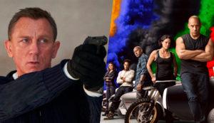 Universal Pictures перенесли два своих фильма — «007: Не время умирать» и «Форсаж 9»