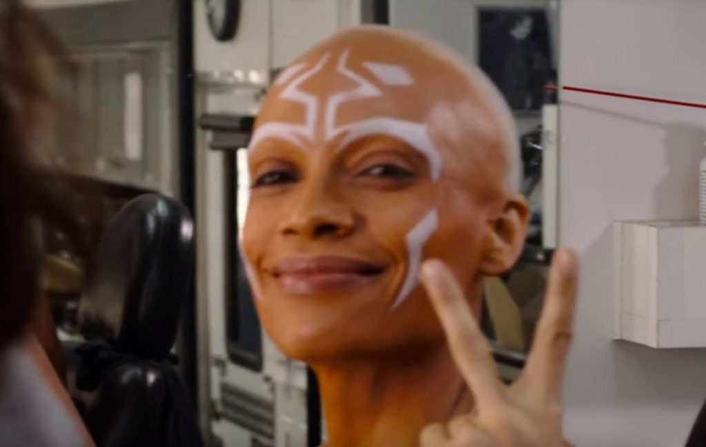"""Розарио Доусон рассказала о своих впечатлениях со съемок в """"Мандалорце"""", про встречу с Джорджем Лукасом и костюм Асоки"""