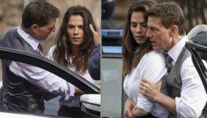 The Sun: Том Круз закрутил роман с партнершей по фильму «Миссия: невыполнима 7» Хейли Этвелл