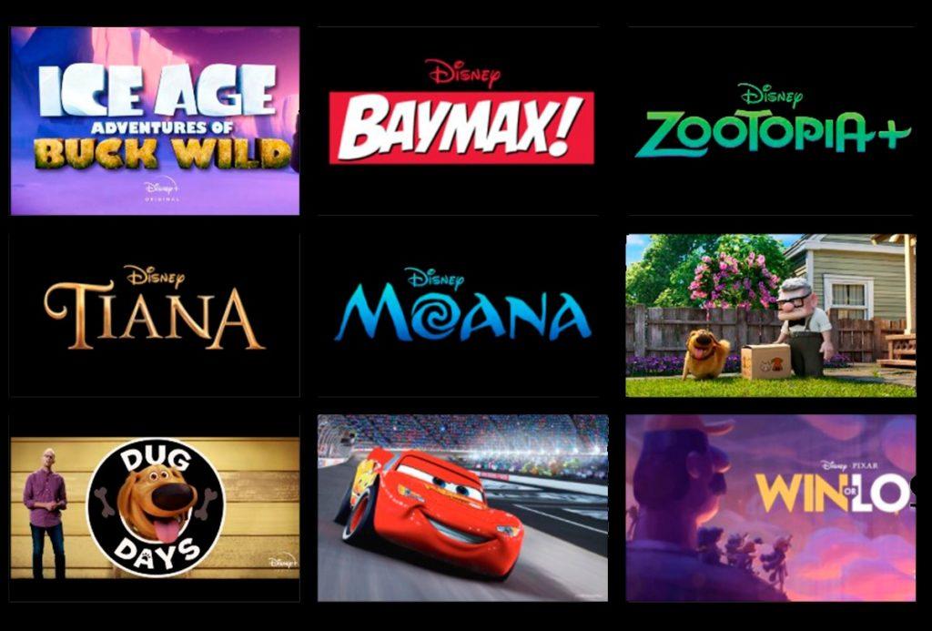 Новые оригинальные мультсериалы от Pixar