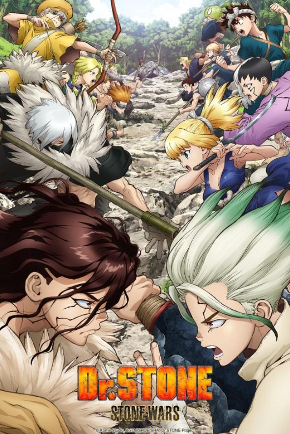 Постер и трейлер второго сезона аниме-сериала «Доктор Стоун»