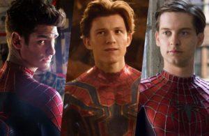 Как могут выглядеть Тоби Магуайер, Эндрю Гарфилд и Эмма Стоун в кинокомиксе «Человек-паук 3»