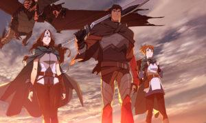 Полноценный трейлер аниме-сериала по игре DOTA 2