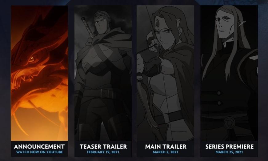Netflix выпустит аниме-сериал по игре DOTA 2 - премьера 25 марта 2021 года