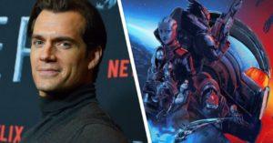 СЛУХ: Генри Кавилл может сняться в экранизации серии игр Mass Effect