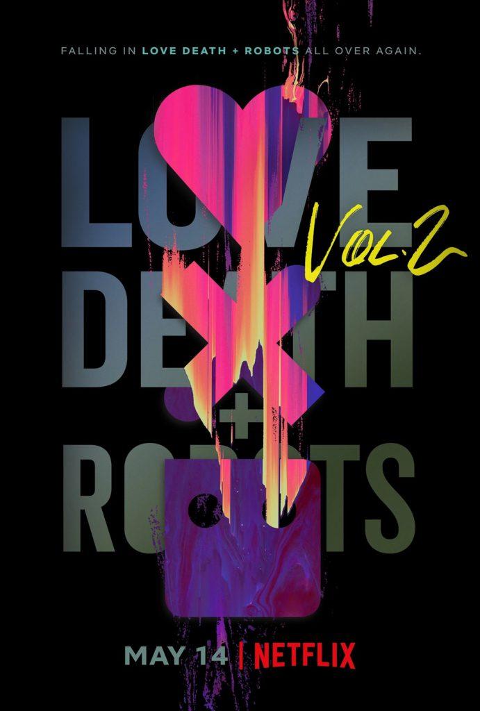 Постер второго сезона сериала «Любовь, Смерть и Роботы»