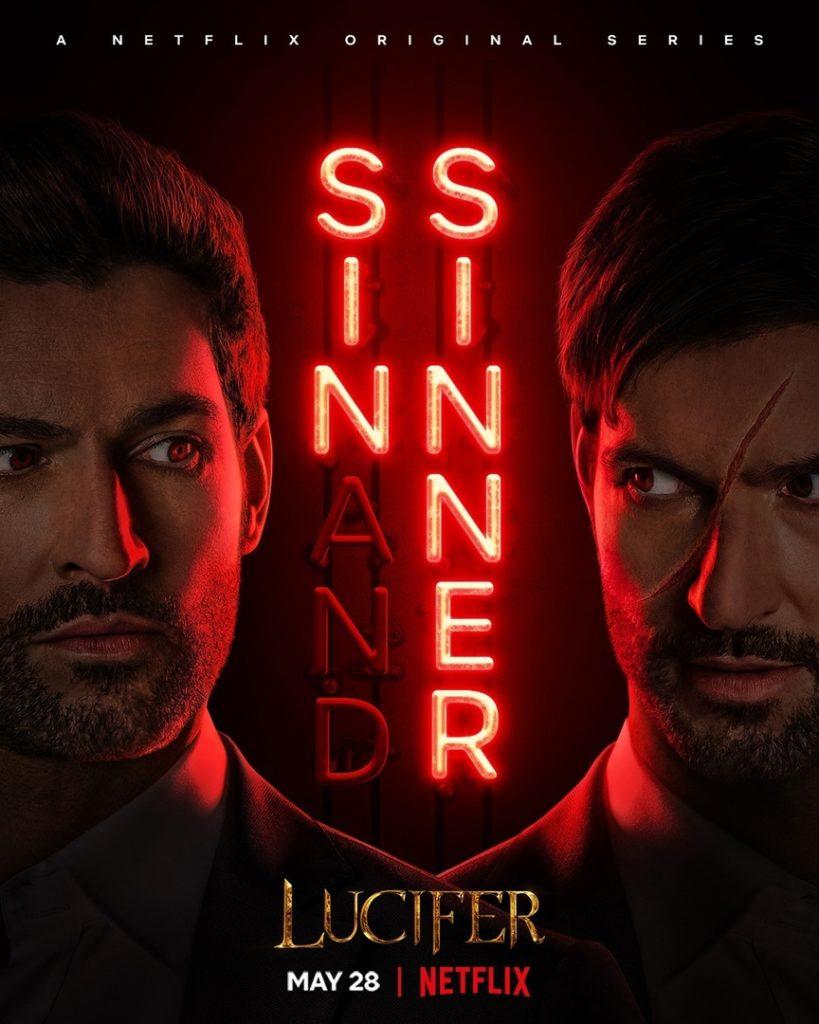 Постер второй половины пятого сезона «Люцифера»