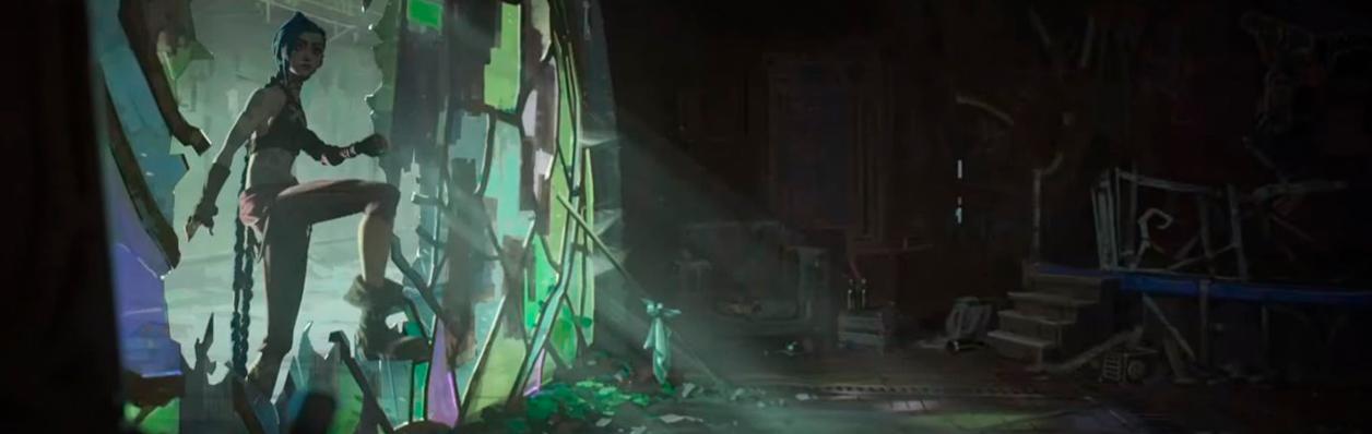 Первый отрывок мультсериала «Arcane» по игре League of Legends