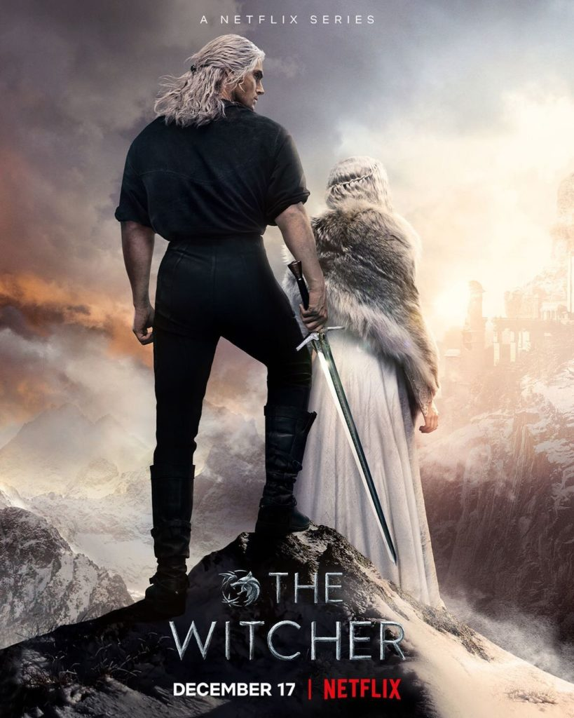 Официальный постер второго сезона сериала «Ведьмак»