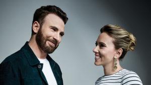 Скарлетт Йоханссон и Крис Эванс могут сыграть в романтическом экшене от Apple и Skydance